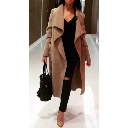 NEW IN - Miss Wish Boutique - CAMEL Waterfall Coat £45 Southend on Sea