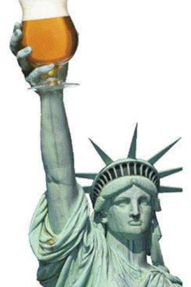 Lady Liberty would like for you to come to Beer Works... #CHSBeer