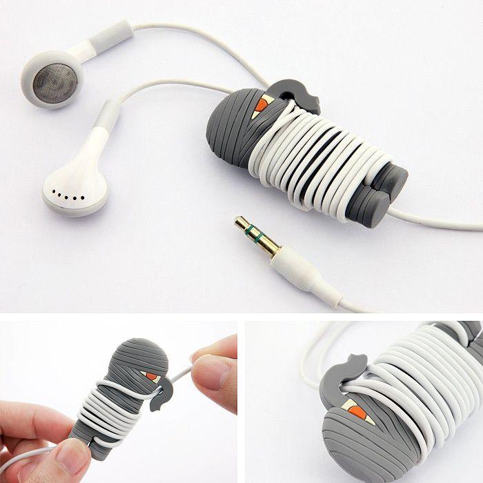 Mummy Wrap for iPod/iPhone Headphones