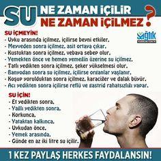 Su ne zaman içilir, ne zaman içilmez? #su #sağlık #beslenme #diyet…