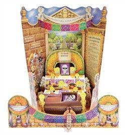 Picture of Day of the Dead Altar de Muertos Paper Cut-Out - Altar Dia de Muertos Papel Picado - Altar de Muertos - Item No. 10069-altar