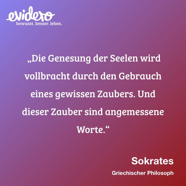 Der #Zauber angemessener #Worte. #Zitate #Sokrates