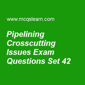 Practice test on pipelining crosscutting issues, computer architecture quiz 42 online. Practice computer architecture and organization exam's questions and answers to learn pipelining crosscutting issues test with answers. Practice online quiz to test knowledge on pipelining crosscutting issues, design of memory hierarchies, what is pipelining, operating systems: virtual memory, intel core i7 worksheets. Free pipelining crosscutting issues test has multiple choice questions as when…