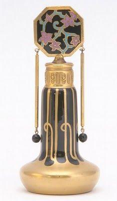 Art Nouveau Perfume bottle
