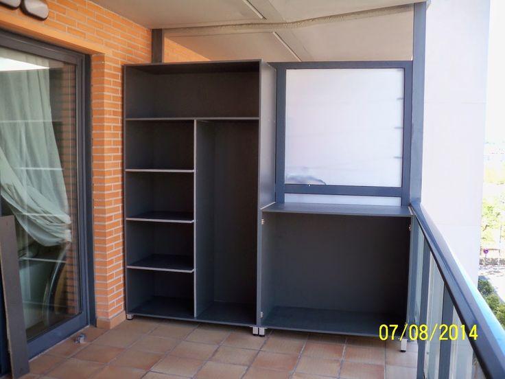 Las 25 mejores ideas sobre armarios modulares en pinterest - Armarios de terraza ...