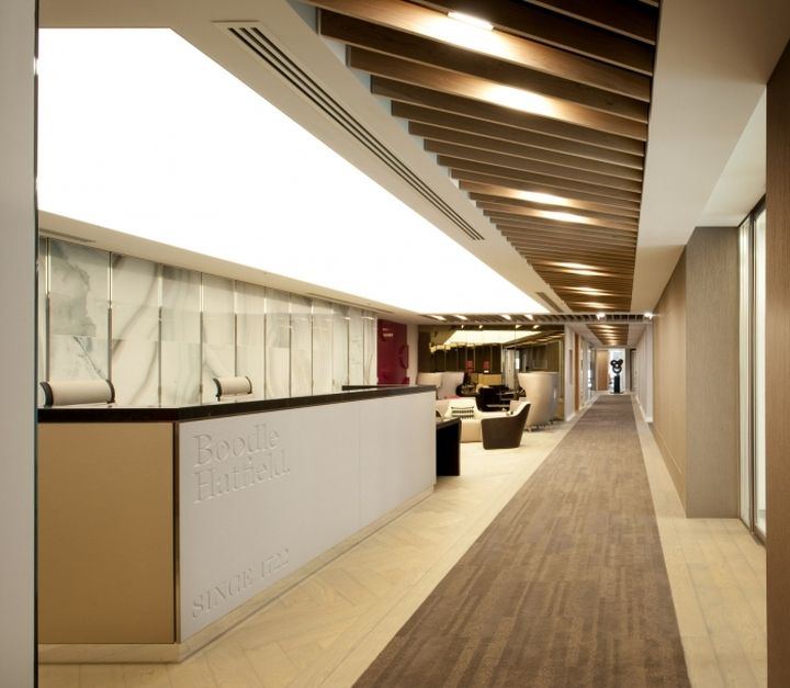Boodle Hatfield Offices By Resonate Interiors London UK Retail Design Blog