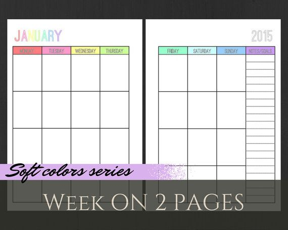 half size A5 Filofax Planner Printable   Planners, Journaling, inserts ...