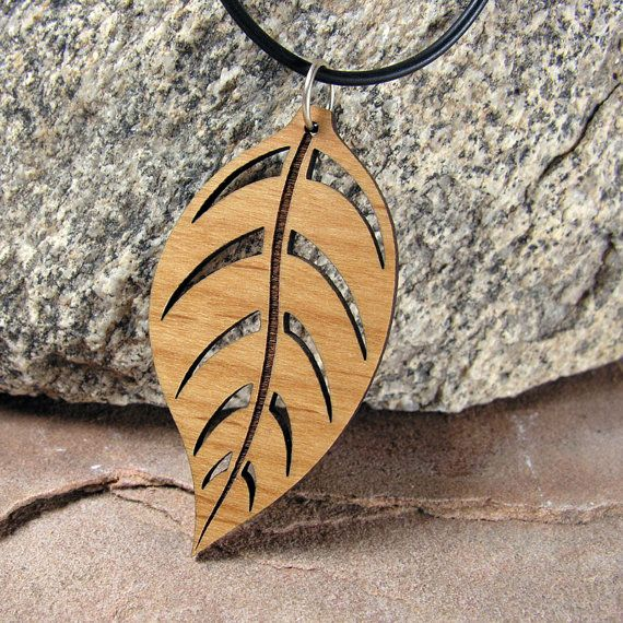 Spiky Leaf  Pendant- 4 sizes available