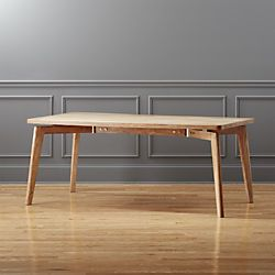 Modern, Urban Dining Tables - Unique Dining Room Tables | CB2