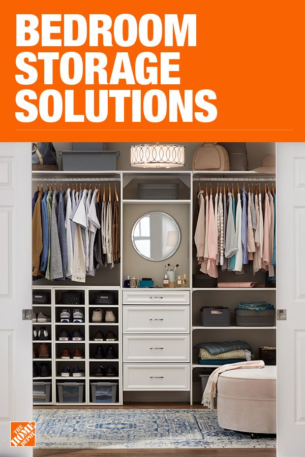 The Home Depot Has Everything You Need For Your Home Improvement Projects Click Through To Learn More About Our Storage And Closet Bedroom Closet Remodel Home