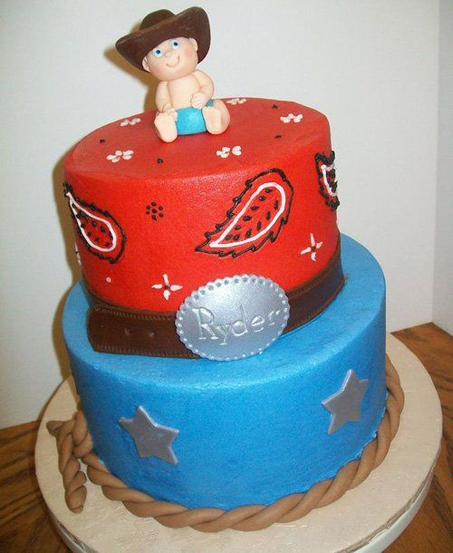 Cowgirl Baby Shower Cakes: Baby Shower Cakes, Shower Cakes