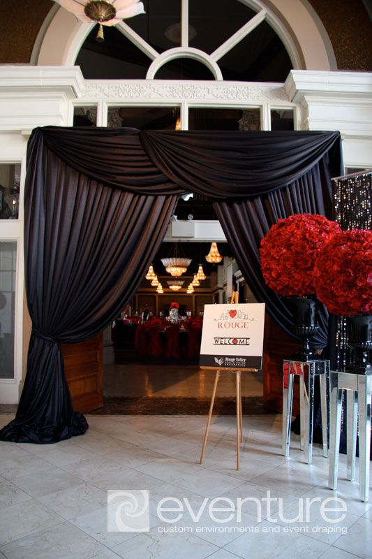 wedding backdrops for a tent | specialty-draping]