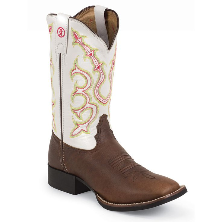 Tony Lama Womens 3R Square Toe Western Boots
