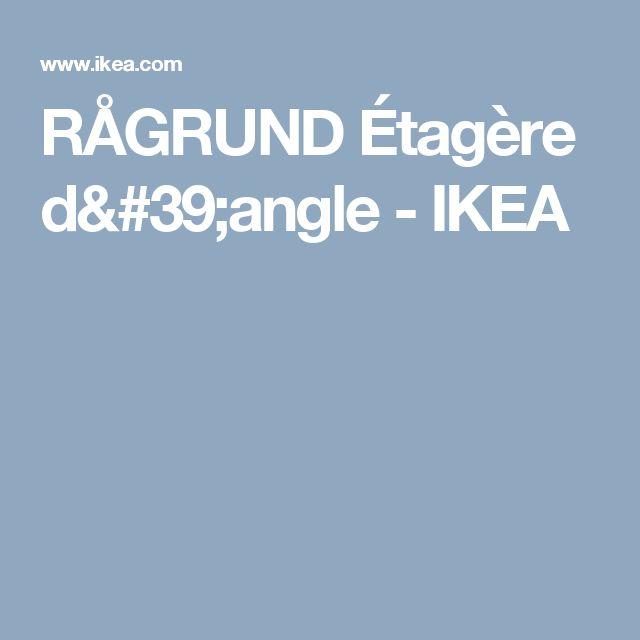 RÅGRUND Étagère d'angle   - IKEA