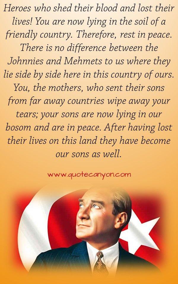 41 Most Inspiring Mustafa Kemal Ataturk Quotes Ataturk Quotes Quotes Teacher Quotes