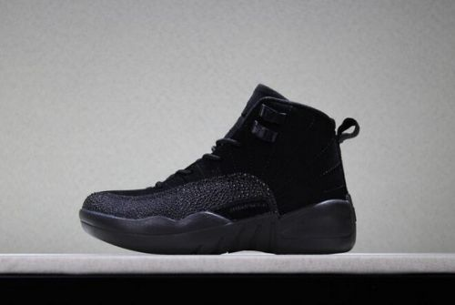 951e3940124 Where To Buy Kids Air Jordan 12 OVO Black Basketball Shoes For Sale -  ishoesdesign