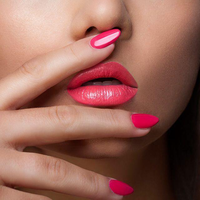 #lipstick #pinklipstick #nailenamel #pink