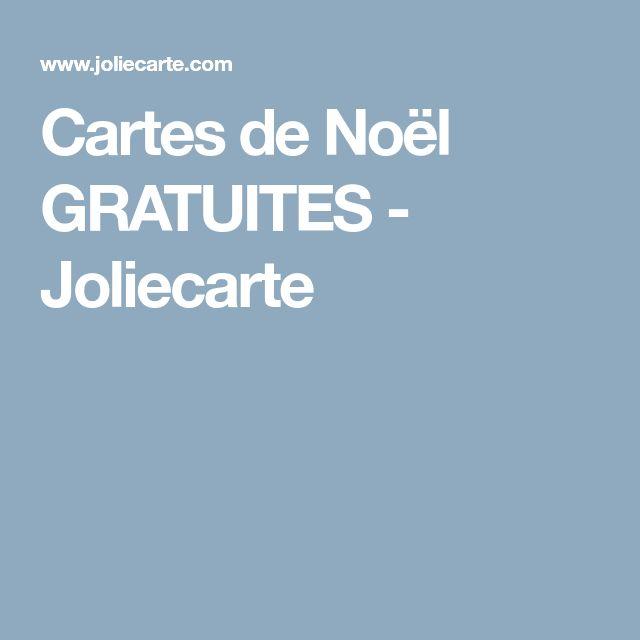 Cartes de Noël GRATUITES - Joliecarte