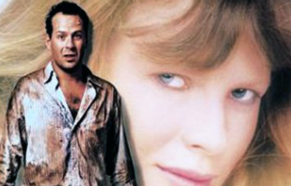 Blind Date Some date! Third-grade businessman Walter (Bruce Willis), a scruffy workaholic failure desperate for a date at a big do, accepts his brother's offer of Nadia (Kim Basinger), a shy southern belle who mustn't be allowed to drink. So what does he do? Right! The man clearly hasn't seen any Gremlins films. What's more, he buys a bottle of champagne to take the girl along to the recording studio where he used to play guitar. Is this credible or what?