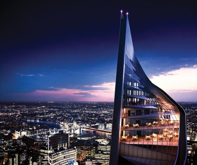 London May Finish Its Half-Built, Five-Year-Old Skyscraper After All