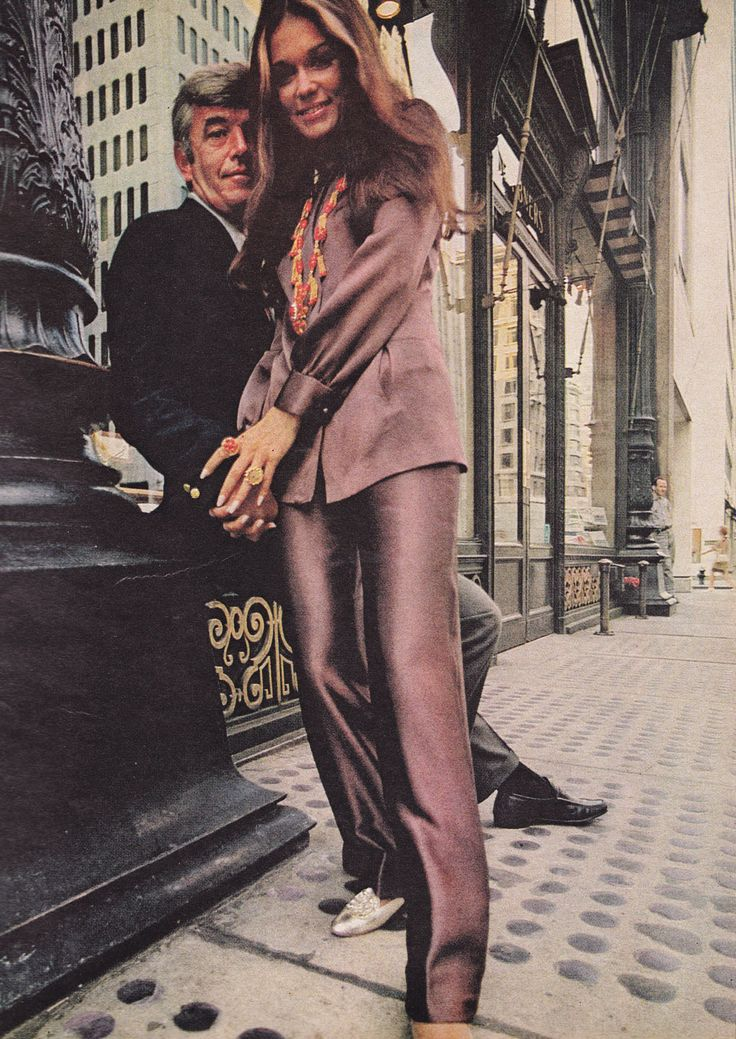 Gloria Steinman in Lynn Stuart for Mister Pants,  McCall's - October 1968,  Photographed by Otto Storch