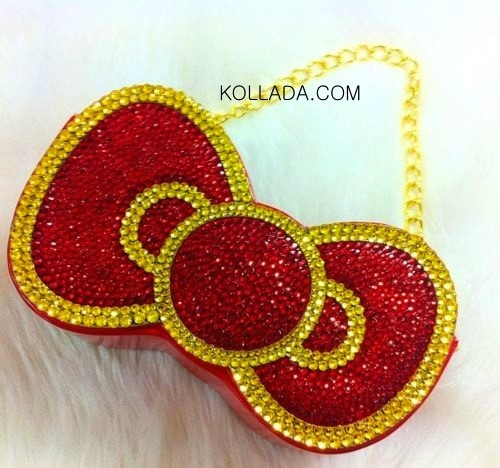 Hello Kitty Bow Clutch Purse - Bling Phone Cases