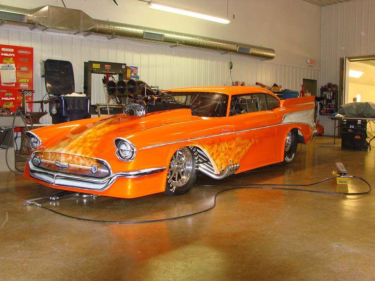 Pro Mod 57 Chevy