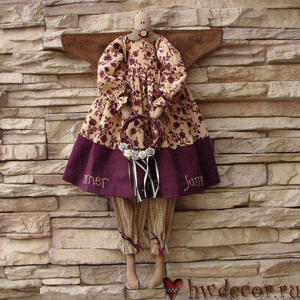 Примитивная кукла Ангел Лето (из набора)