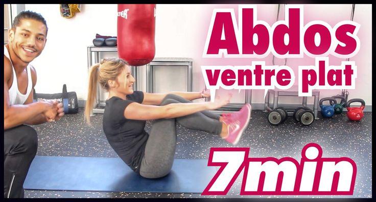 Voici une séance de fitness Abdominaux & ventre plat en 7min très intense et efficace en temps réel. Parfaite pour les femmes qui veulent des résultats rapid...