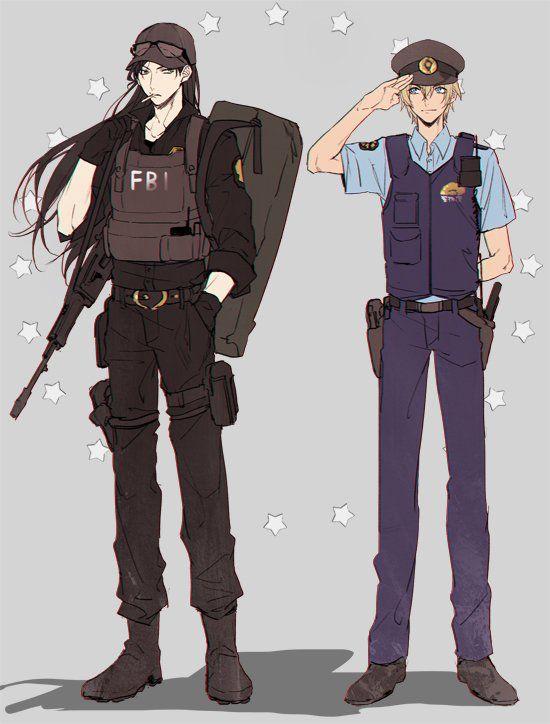 Shuichi Akai and Rei Furuya