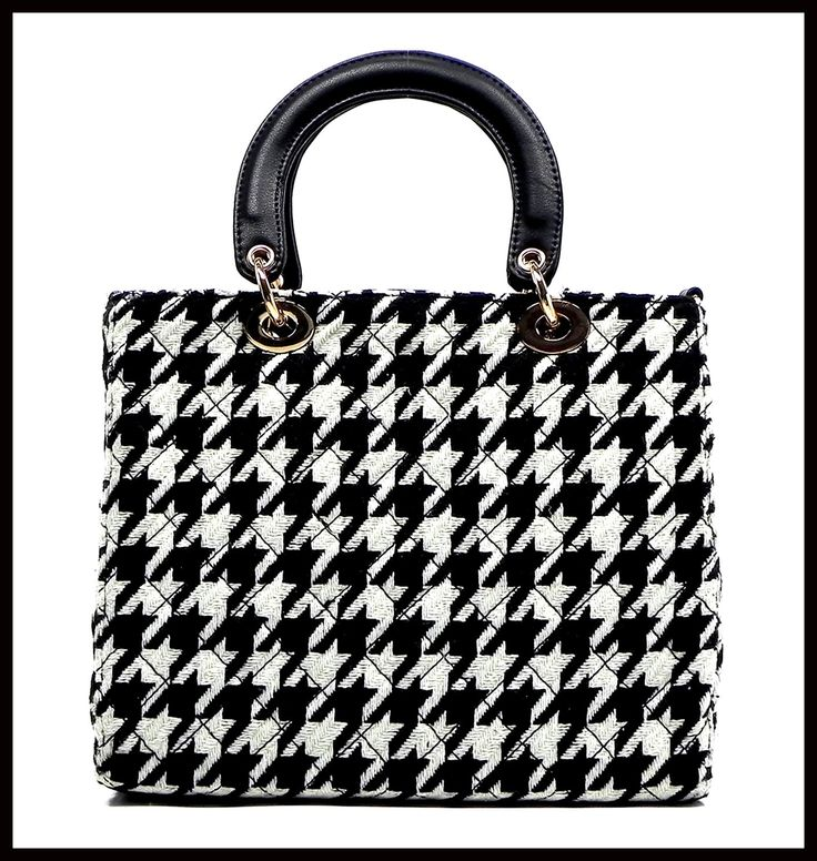286 best Houndstooth Fashion images on Pinterest ...