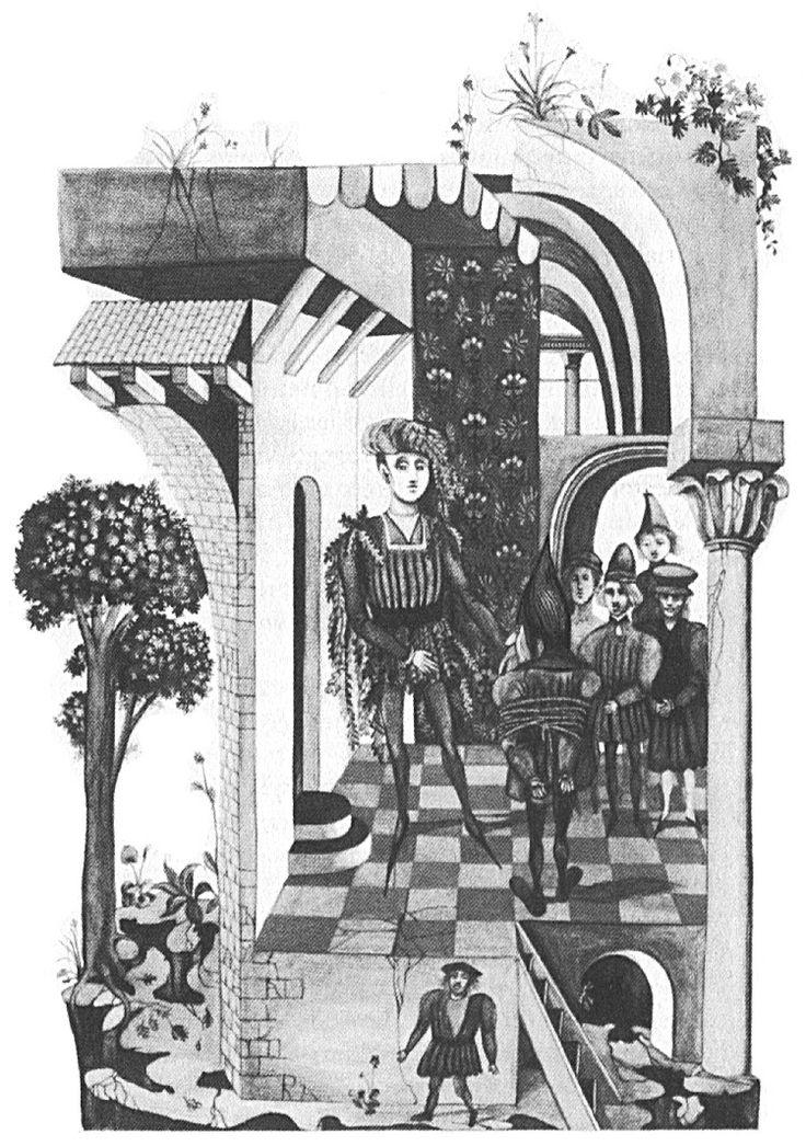 """Klaus Ensikat illustration for """"The Hobbit""""."""