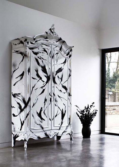 graffiti black white furniture by graffiti kings black white furniture