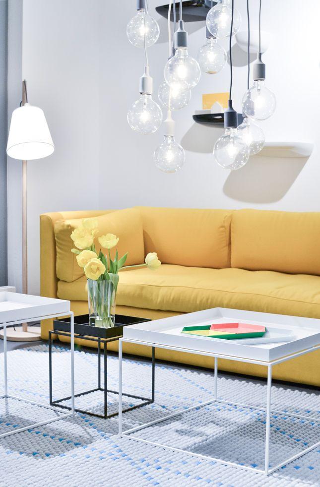 Hay sofa & coffee tables