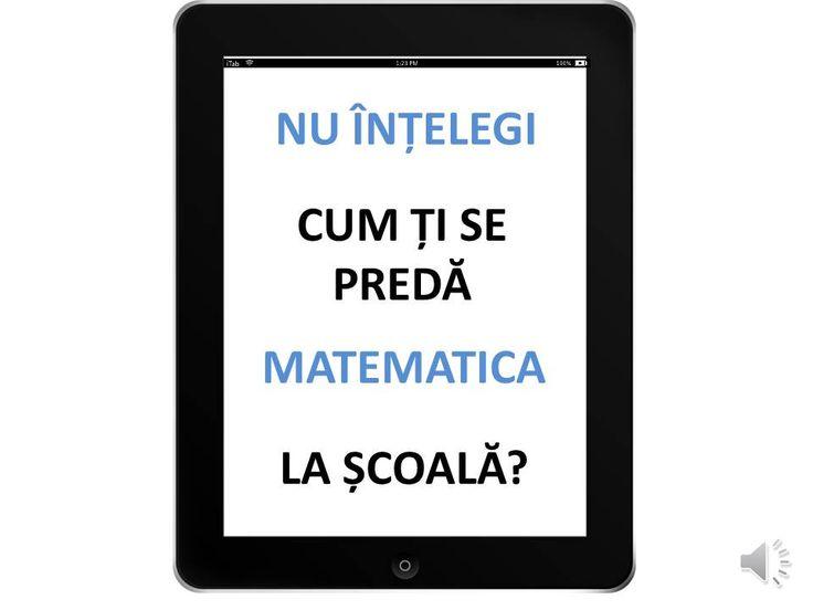 https://www.youtube.com/user/RezolvariMatematica