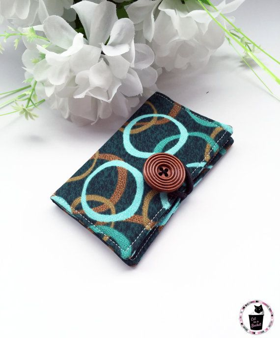 I love how vivid this fabric is! Perfect for business cards