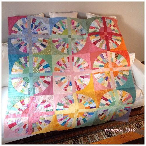 """the top of my quilt """"Colors"""" is finished 