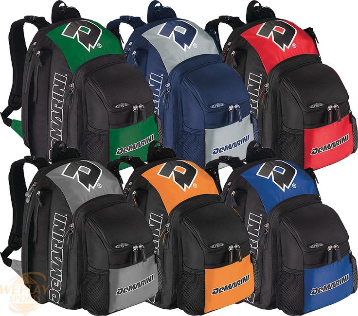 Demarini 174 Voodoo 174 Backpack Baseball Softball Gear