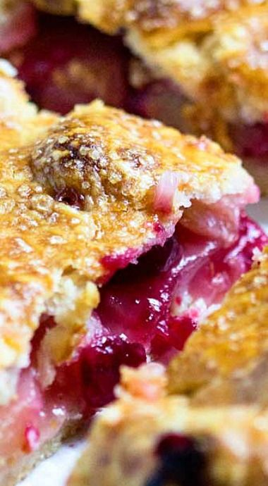 Apple Cranberry Slab Pie | Recipe
