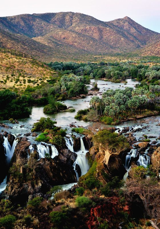 Epupa Falls, Namibia Sometimes I'm simply in awe that places like this exist, and I say a silent prayer hoping to visit...