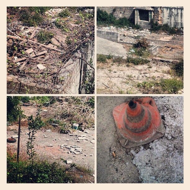 #Debris and #Trash outside my Home