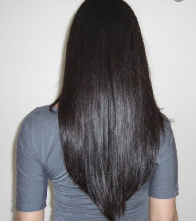 V line haircut