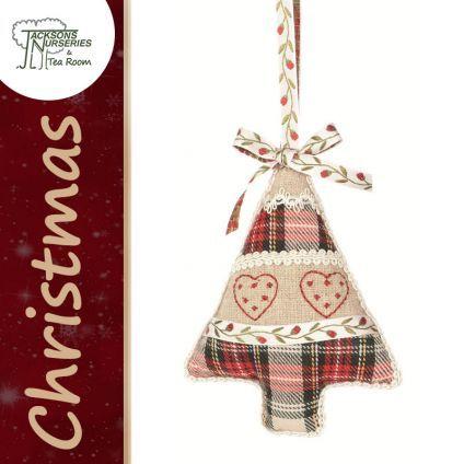 Buy Fabric Tree Christmas Decoration online at Jacksons Nurseries