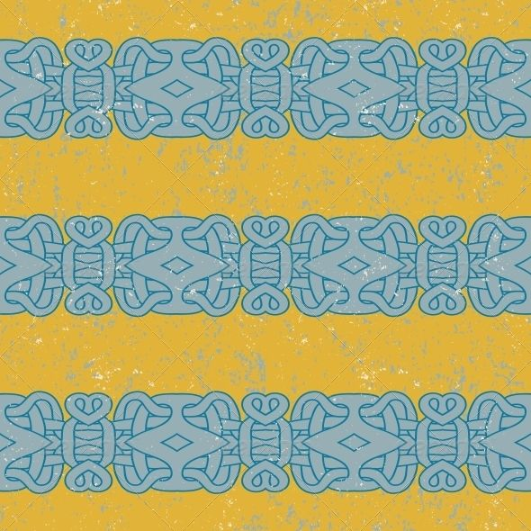 Ancient Mayan Pattern  #GraphicRiver         ancient Mayan pattern. Vector seamless pattern with stripes and scratches, texture for print, wallpaper, textile. Concept for history, archeology.     Created: 5February13 GraphicsFilesIncluded: JPGImage #VectorEPS Layered: No MinimumAdobeCSVersion: CS Tags: abstract