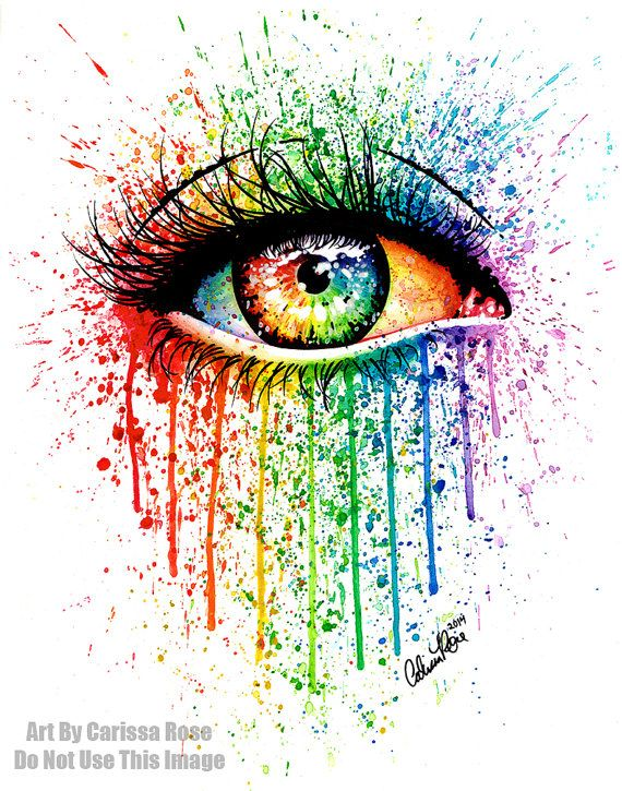 Colorful Eyes Painting Top Creative Pop Eye Images For Pinterest