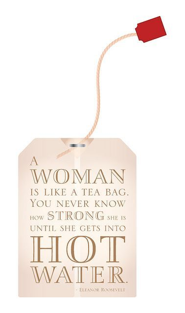 A Woman is like a tea bag free download - Paper Crafts magazine women in business, women business owners