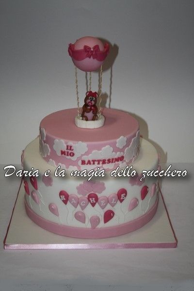 #Torta battesimo bimba #Baptism cake baby girl