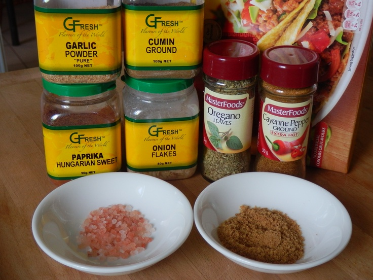 Make your own additive free taco seasoning !! | Natural New Age Mum