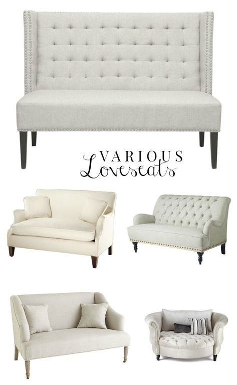 Various Loveseats, Sofas, HomeCreations.pl