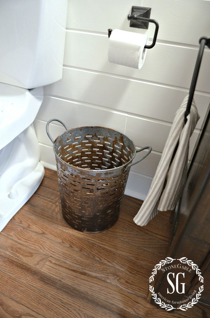 Best Bathroom Trash Cans Ideas On Pinterest Trash Can - Bathroom garbage can with lid for bathroom decor ideas